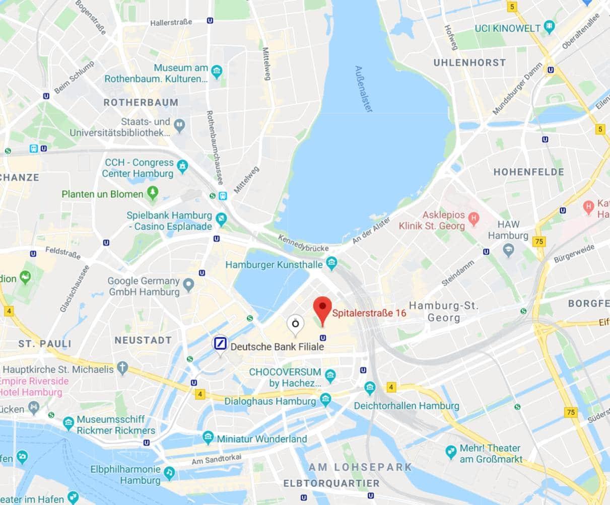 Sitz der Cronbach GmbH in Hamburg